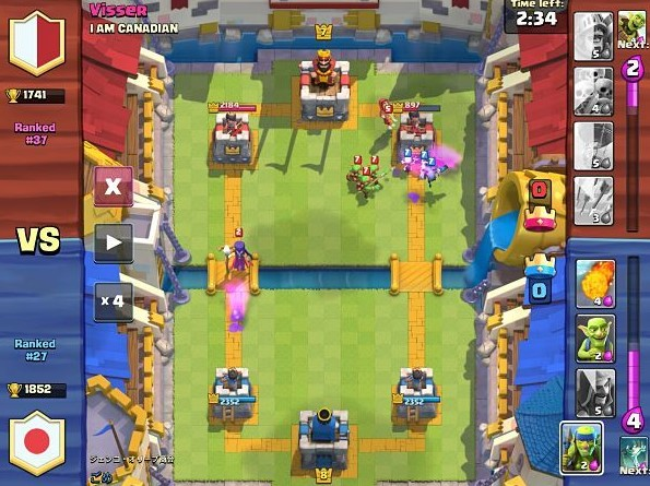usar elixir en clash royale